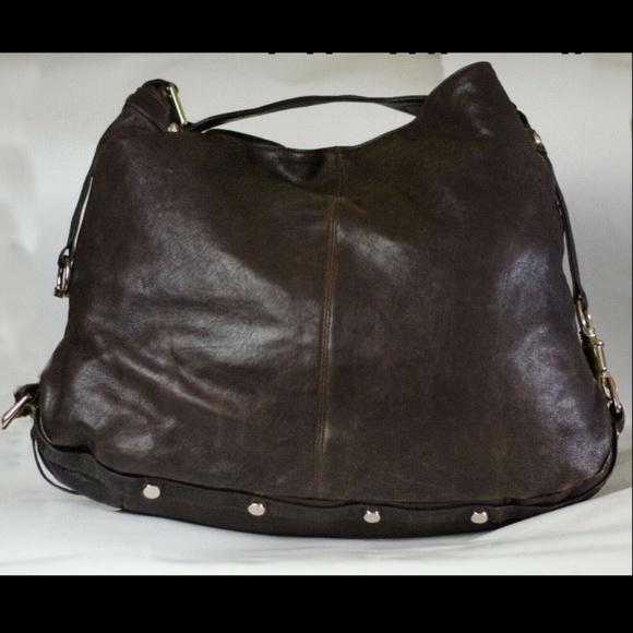 Rebecca Minkoff Handbags - Rebecca Minkoff Nikki Hobo Brown Leather Lg Purse